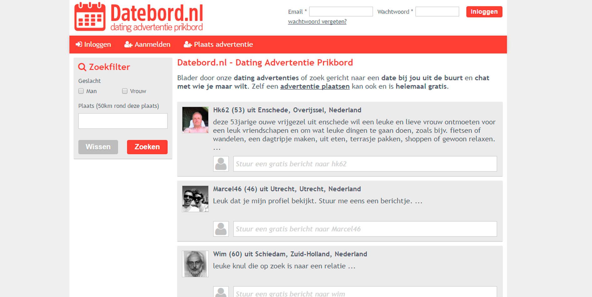 kosten datingsites vergelijken Roermond