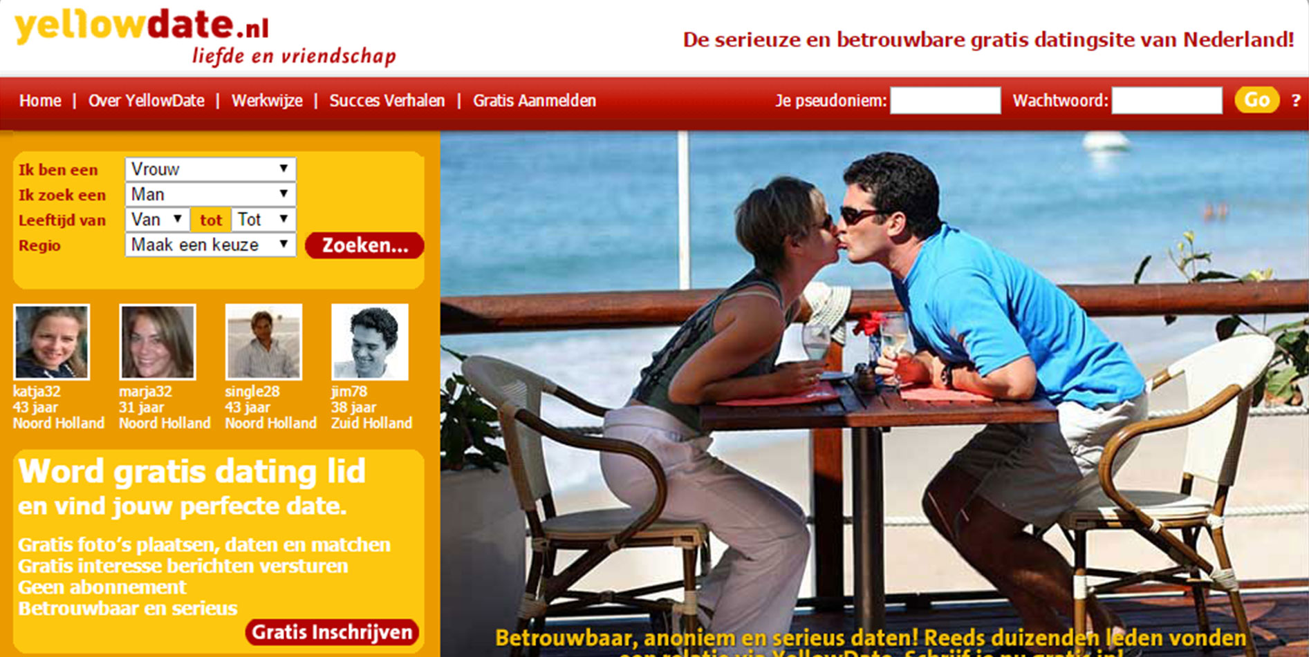 dating website nl