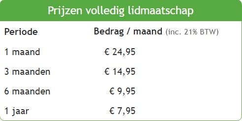 prijzen datingsites vergelijken Alkmaar